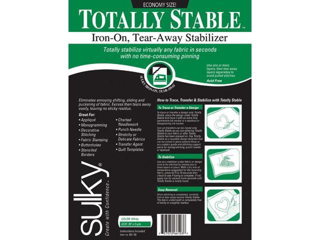 Totally Stable Iron-On Tear-Away Stabilizer-20