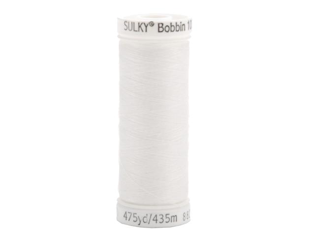 Sulky Bobbin Thread 60 Weight 475 Yards-White