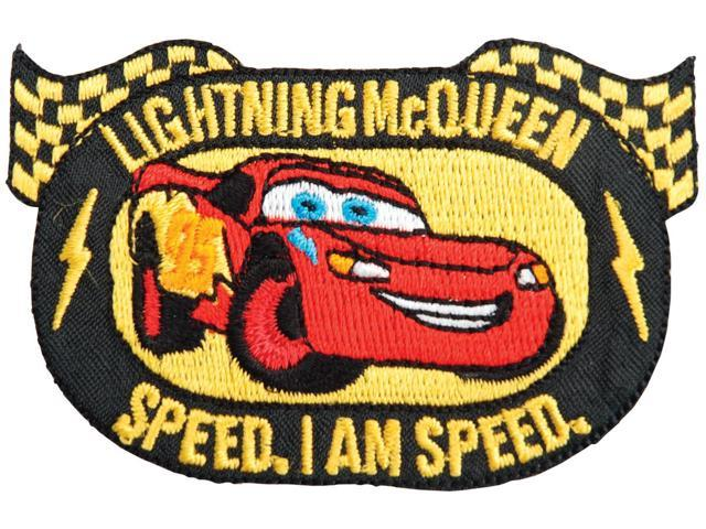 Disney Cars Iron-On Appliques-Lightning McQueen Emblem