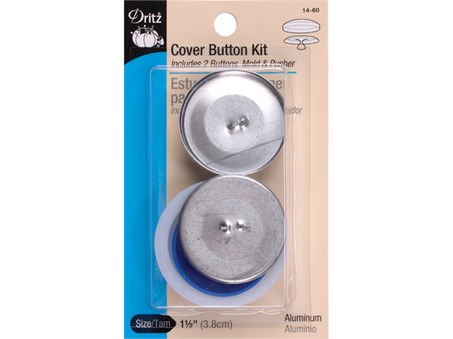 Cover Button Kits-Size 60 1-1/2
