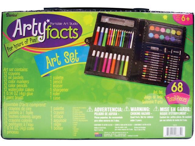 Artyfacts Portable Art Studio Kit-68 Pieces