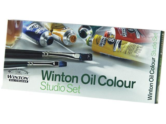 Winton Oil Paint Studio Set-