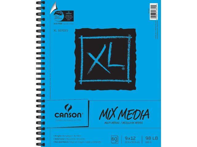Canson XL Multi-Media Paper Pad 9