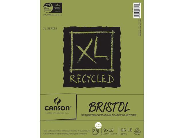 Canson XL Recycled Bristol Paper Pad 9