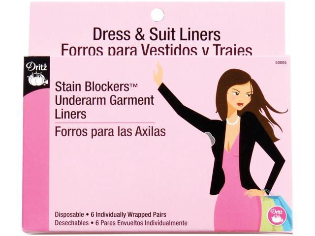 Stain Blockers Underarm Garment Liners-6/Pair