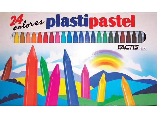 Factis Plastipastel Set 24/Set General Pencil GP1174