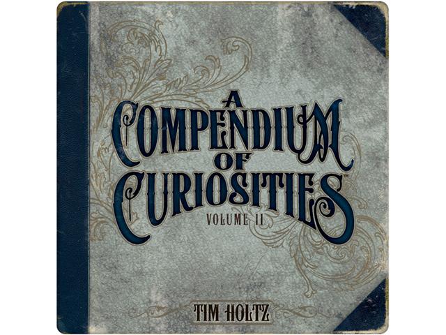Tim Holtz Idea-Ology Book-Compendium Of Curiosities 2