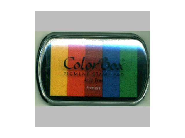 ColorBox Pigment Inkpad 5 Colors-Primary