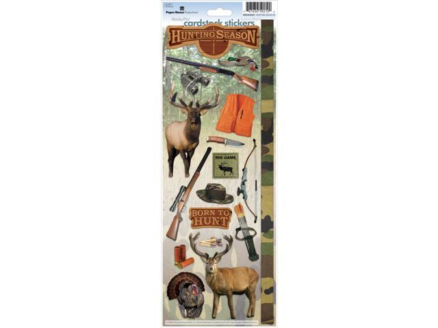 Paper House Cardstock Stickers-Hunting Season
