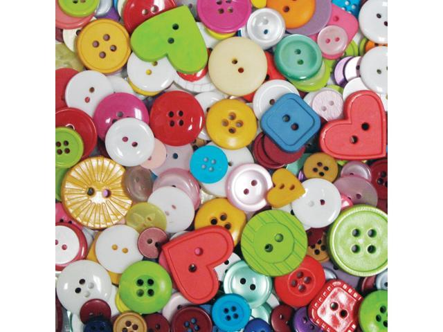 Favorite Findings Big Bag Of Buttons-Multi 4oz