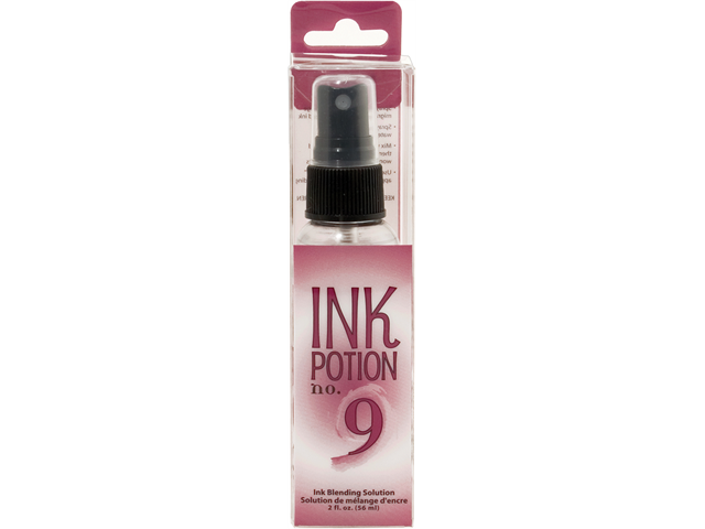 Ink Potion #9 Blending Solution Spray Bottle 2 Ounces-Packaged