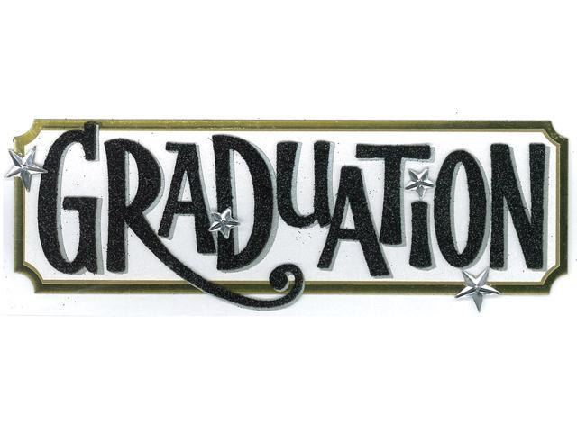Jolee's Boutique Title Wave Stickers-Graduation Tag