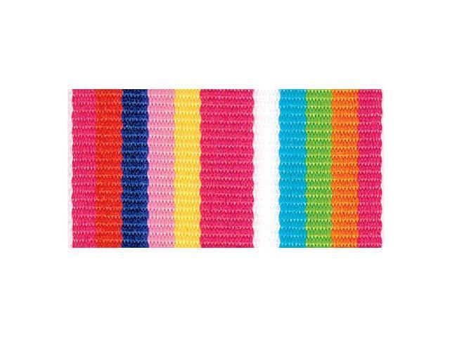 Roman Stripe Ribbon 1-1/2