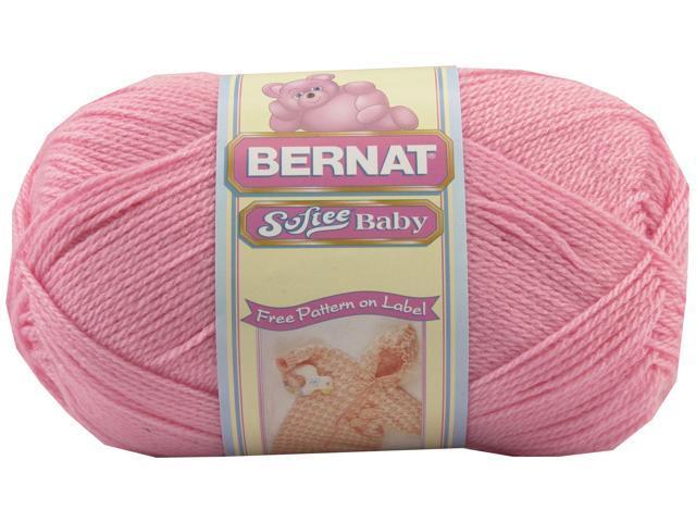 Softee Baby Solid Yarn-Prettiest Pink