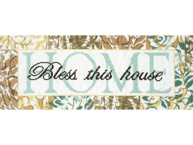 Bless This House Counted Cross Stitch Kit-7