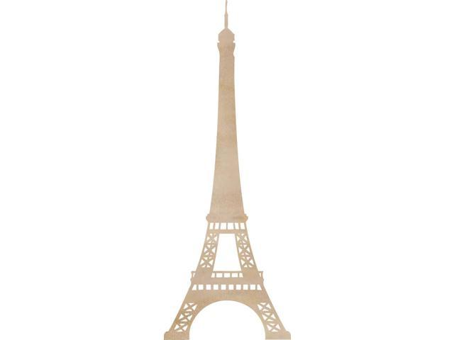Wood Flourishes-Eiffel Tower