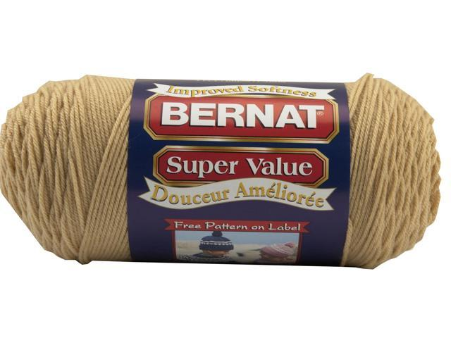 Super Value Solid Yarn-Dark Heather
