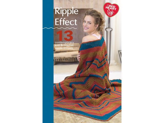 Coats & Clark Books-Ripple Effect- Soft Yarn