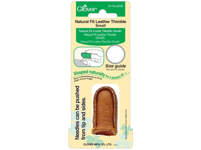 Natural Fit Leather Thimble Small-
