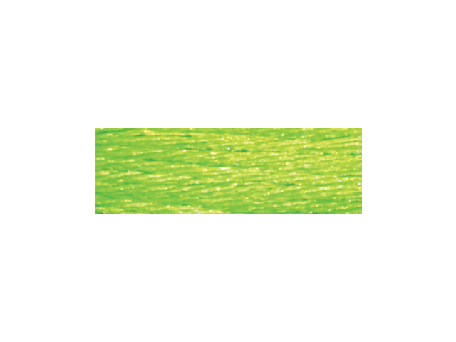 DMC Light Effects Embroidery Floss 8.7 Yards-Neon Yellow