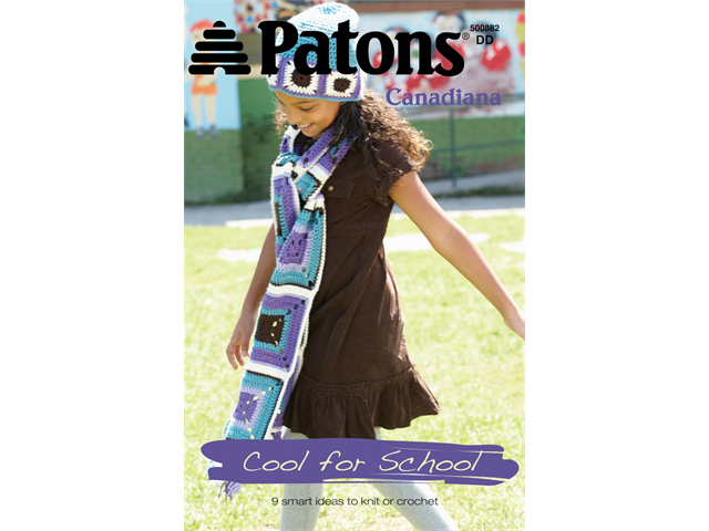 Patons-Cool For School -Canadiana