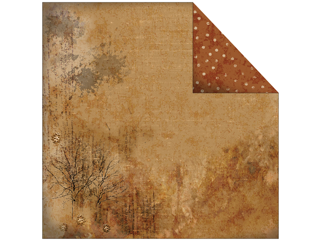 Rustic Double-Sided Paper 12