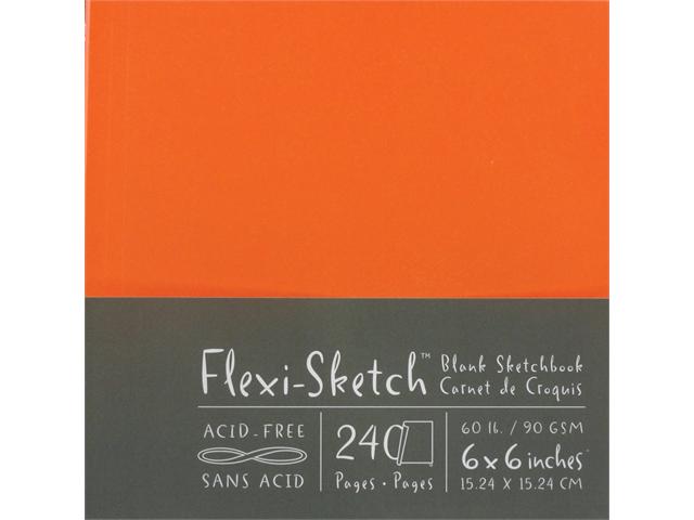 Flexi-Sketch Blank Sketchbook 6