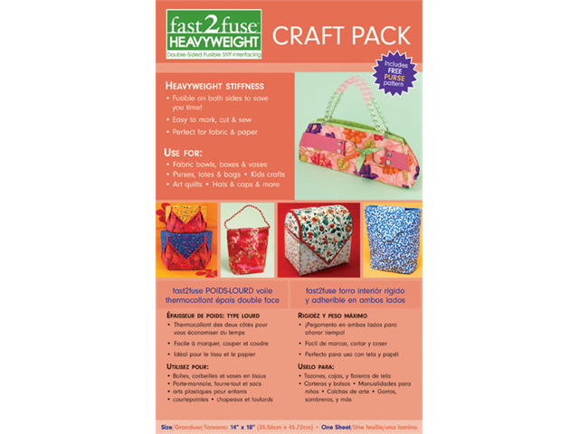 Fast2fuse Craft Pack Interfacing Heavy Weight-14