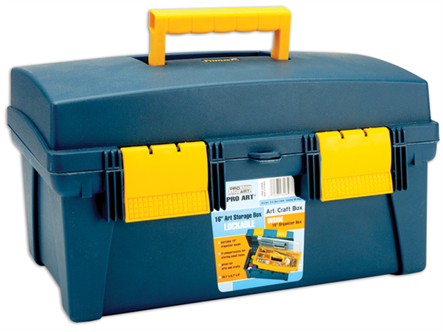 Pro Art Storage Box With Inner Tray 16