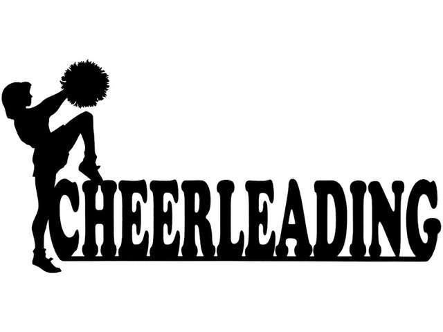 Cardstock Laser Die-Cuts-Cheerleading