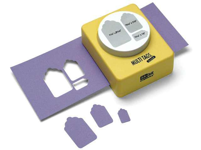 Essential Paper Punch-Multi Tags