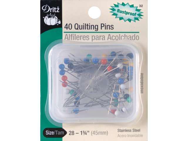 Quilting Pins-Size 28 40/Pkg
