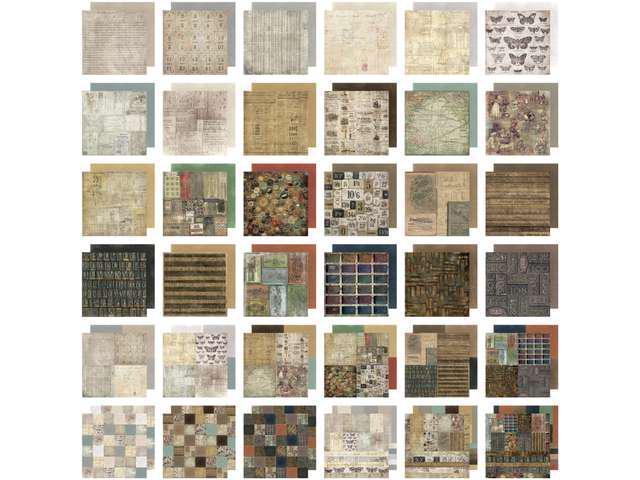 Idea-Ology Paper Stash Paper Pad 12