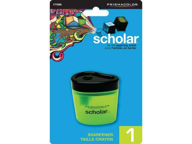 Prismacolor Scholar Sharpener Carded 1/Pkg-
