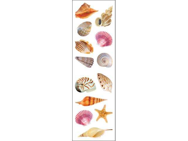 Mrs. Grossman's Stickers-Sea Shells