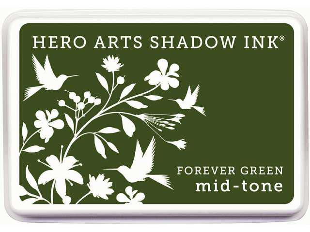 Hero Arts Shadow Inks-Forever Green