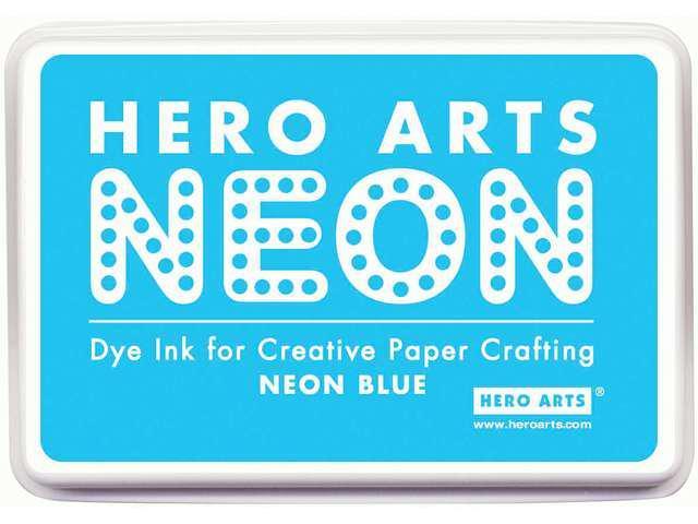 Hero Arts Neon Ink Pad-Blue