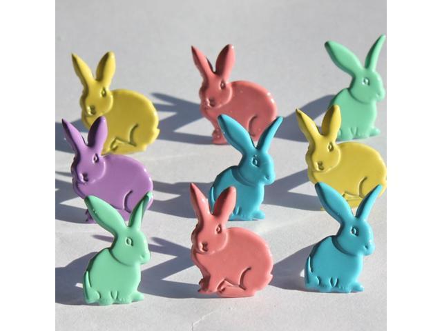 Eyelet Outlet Brads-Rabbits Pastel