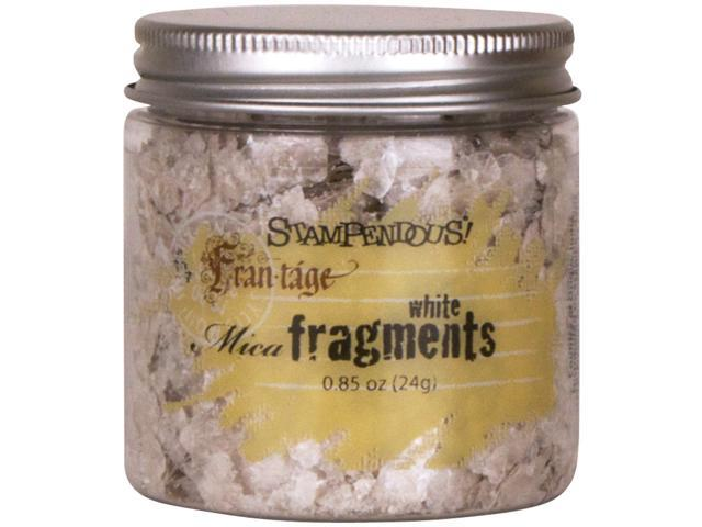 Stampendous Mica Fragments-White