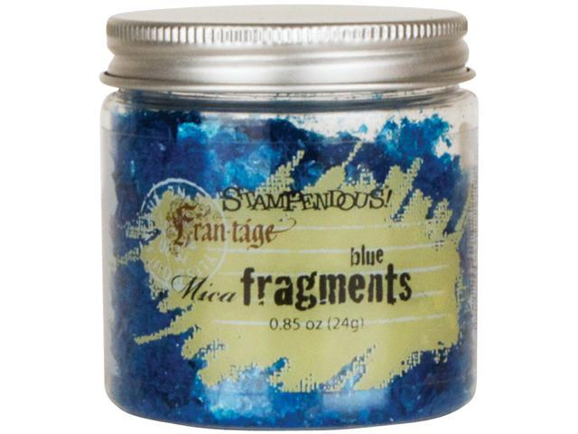 Stampendous Mica Fragments-Blue