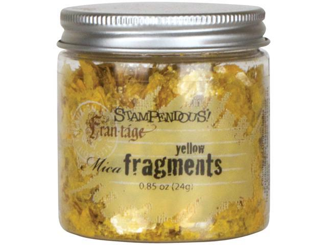 Stampendous Mica Fragments-Yellow