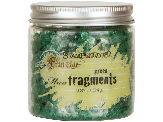 Stampendous Mica Fragments-Green