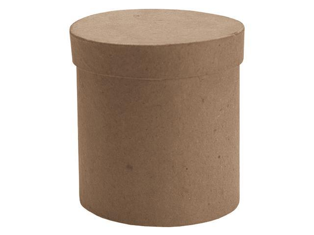 Paper Mache Tall Round Box-3