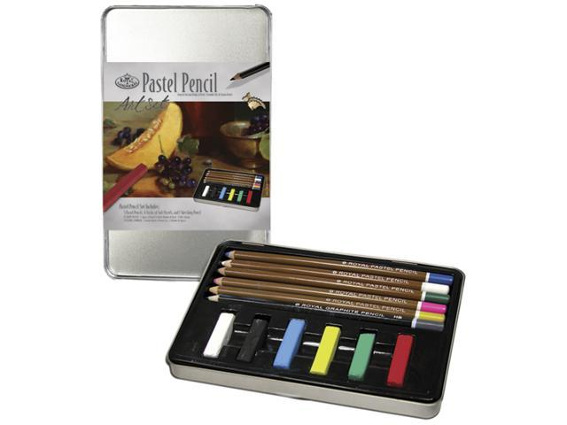 Pastel Pencil Art Set W/Tin-