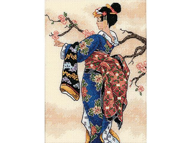 Gold Collection Petite Mai Counted Cross Stitch Kit-5