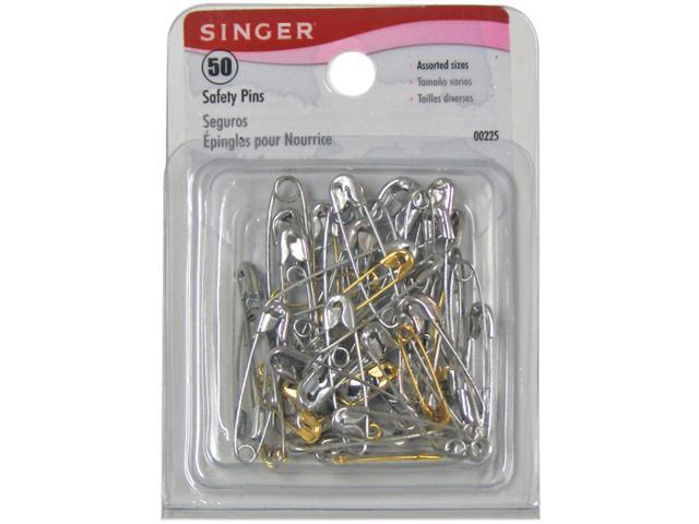 Safety Pins-Size 00-3 50/Pkg