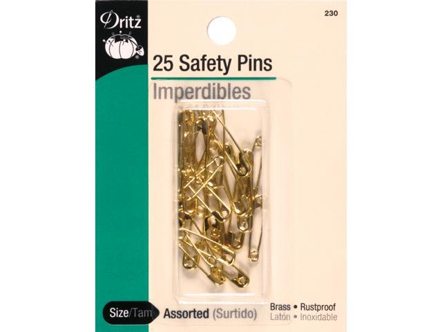 Safety Pins-Assorted 22/Pkg