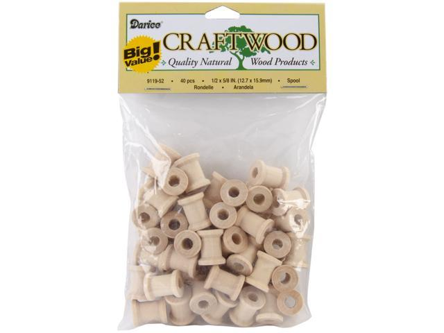Wood Turning Shapes Value Pack-Spools 1/2