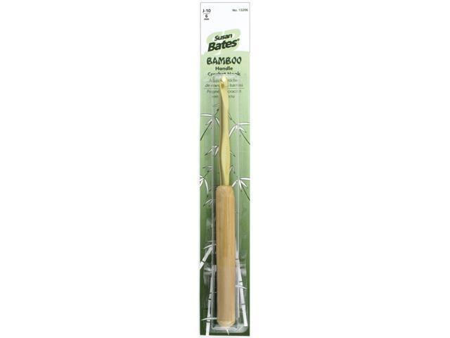 Bamboo Handle/Aluminum Head Crochet Hooks 5-1/2
