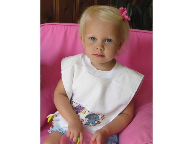 Pullover Velour Toddler Bib 12
